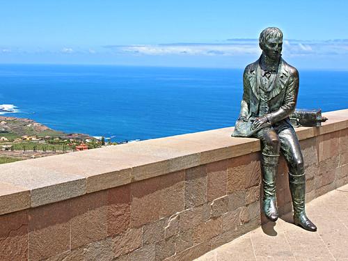 Alexander Von Humboldt, Humboldt's Mirador, La Orotava, Tenerife