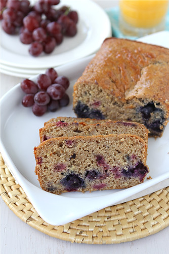 Lemon, Yogurt, Berry & Ginger Whole Wheat Quick Bread Recipe