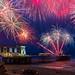 Penarth pier fireworks by technodean2000