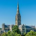 Salisbury Cathedral - Rooftop View by JackPeasePhotography