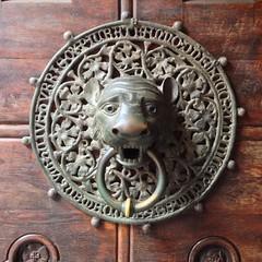 #leo #lion #doorknockers #nofilter #germany #hamburg
