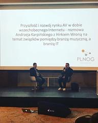 Dyrektor Internetu z Dyrektorem Muzycznym :) #plnog17