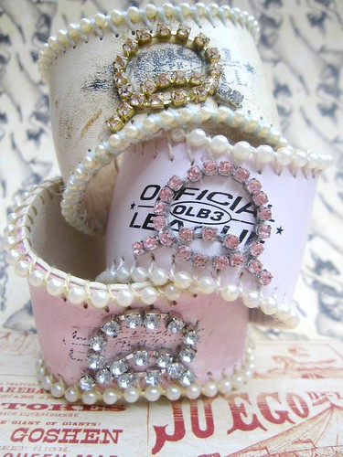 Custom Shabby Baseball Cuffs! 8