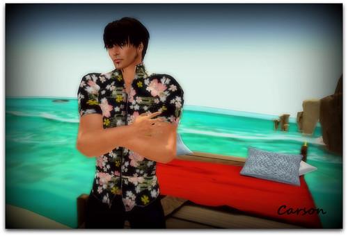 SHIKI  - Oriental Aloha Shirt