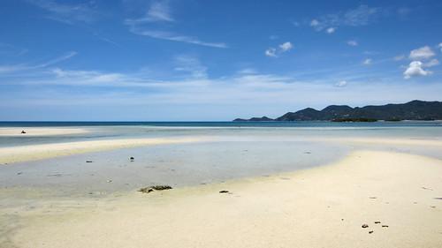 Koh Samui Chaweng Beach north サムイ島チャウエンビーチ北端 (1)