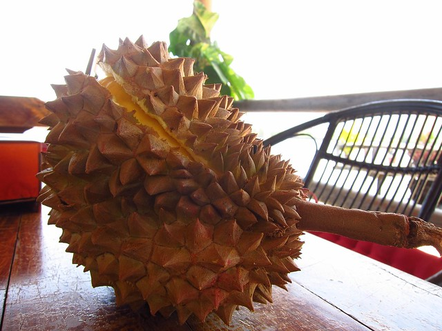 Step 1: Split Durian Open
