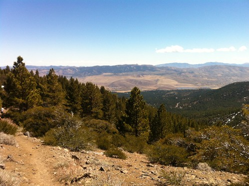Looking east to Little Washoe Lake