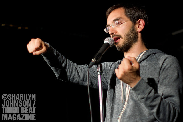 7105142963 ff264a59ca z Caught Live: Myq Kaplan at Comedy Bar in Toronto