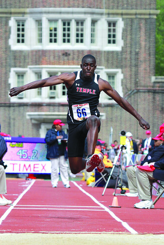 Temple's Freshman Triple Jumper Gabriel Pickett