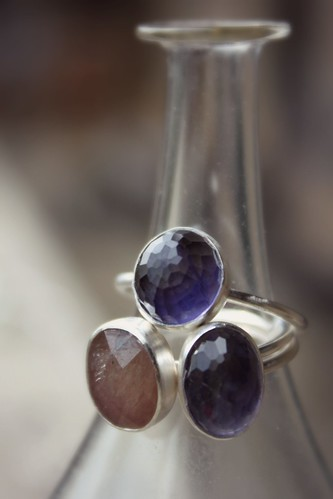 Iolite and Sapphire