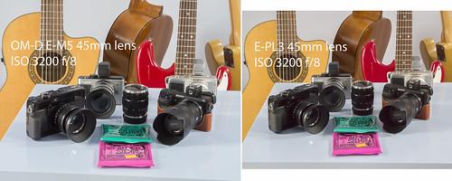 Olympus OM-D E-M5 E-PL3 45mm lens - ISO-3200
