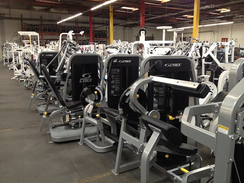 Cybex eagle fitness equipment
