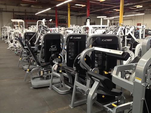 Cybex eagle fitness equipment