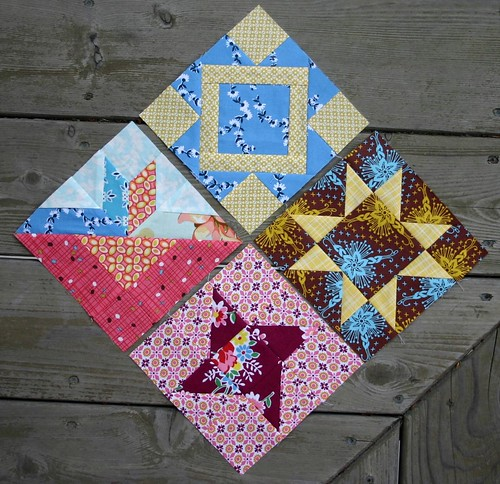 New Farmer's Wife blocks for this week