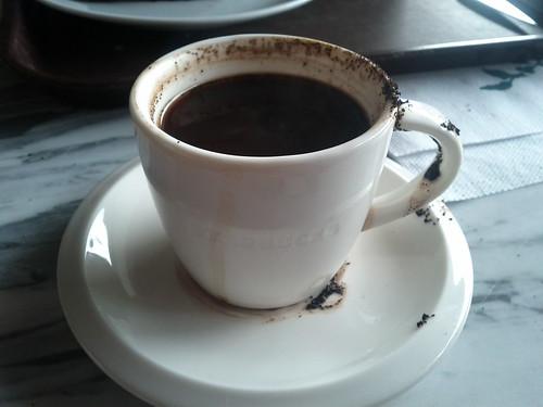Worst Turkish coffee ever