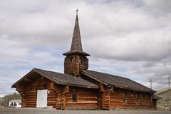 ログハウスみたいなかわいい教会