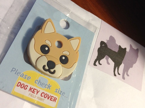 Field Point Shiba key cover