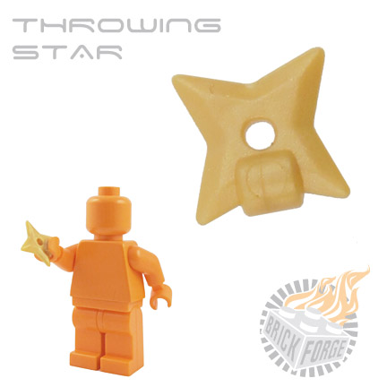 Throwing Star - Gold