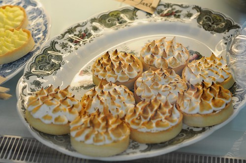 Passionfruit Meringue Tart at Carpenter and Cook