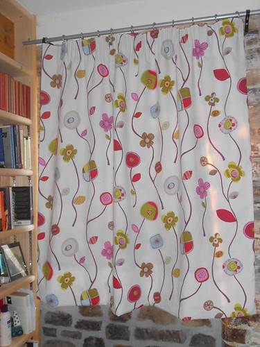The finished curtain