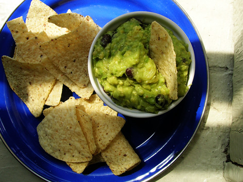 pineapple black bean guacamole
