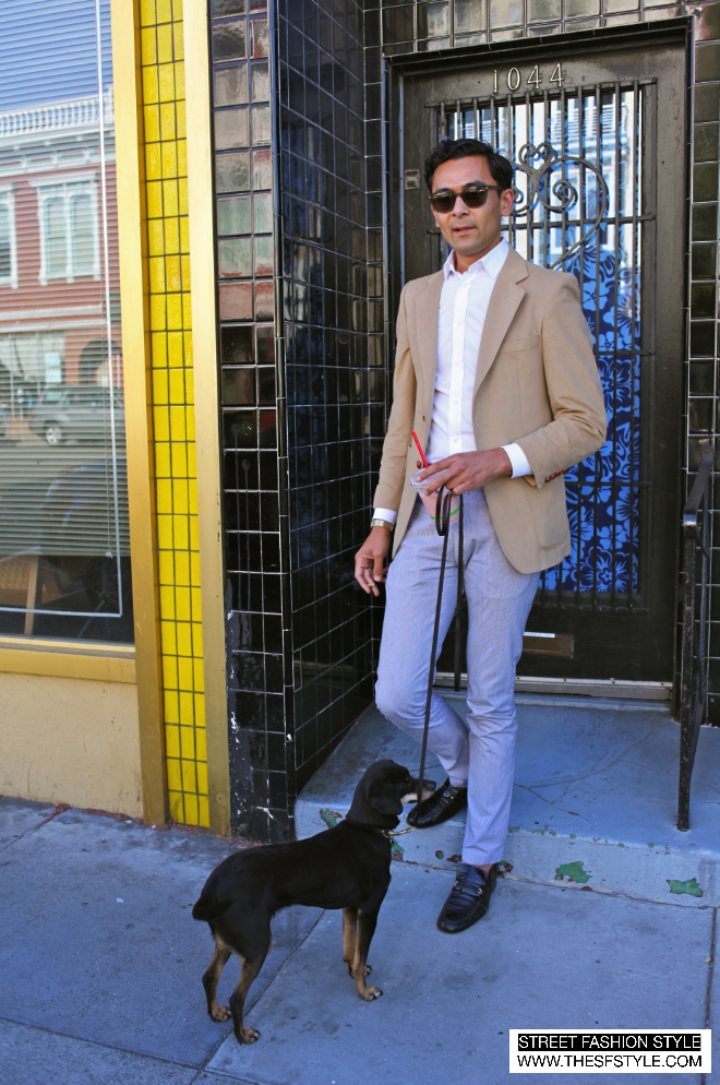 man morsel monday, street fashion style, victor solomon, san francisco