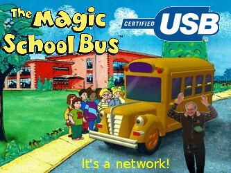 The Magic School Bus is a Network!