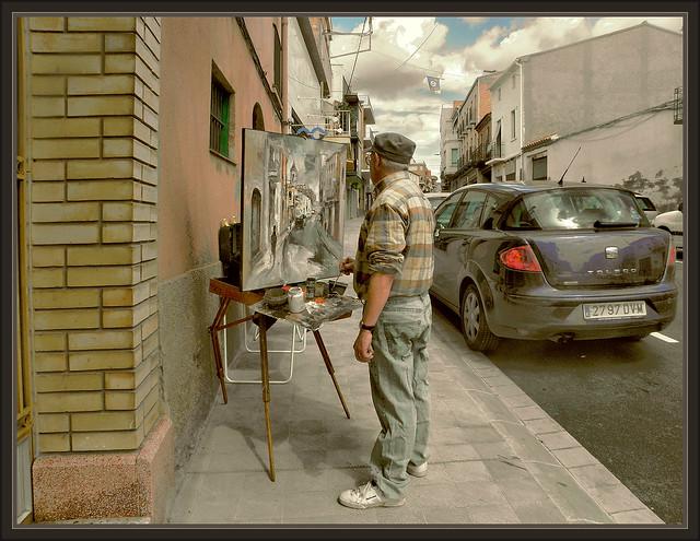 Lleida catalunya alpicat espa a pintura paisajes fotos - Pintores en lleida ...
