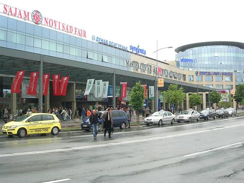 Выставочный центр «Novi Sad Fair».