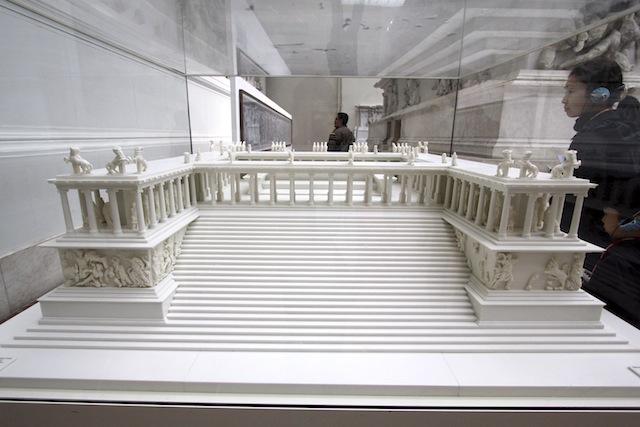 Pergamon Altar scale model