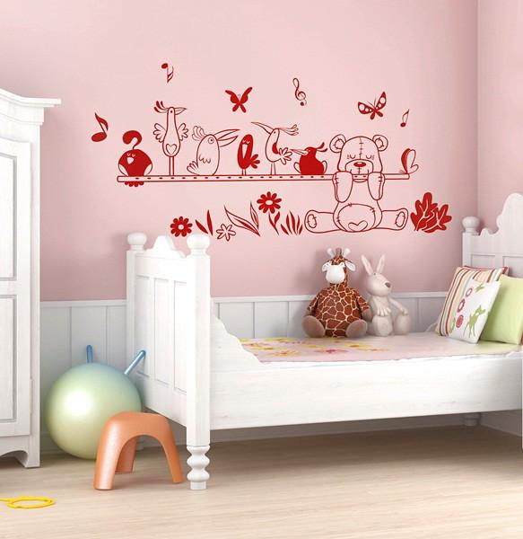 Vinilo infantil osito flickr photo sharing - Papelpintadoonline com vinilos decorativos ...
