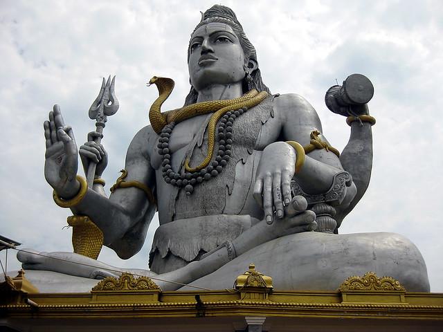 Statue of Lord Shiva, Murudeshwar
