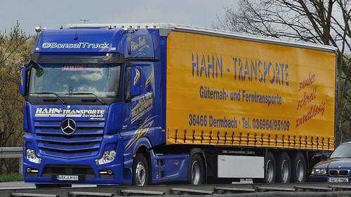 D - Hahn Transporte MB New Actros 1845 Gigaspace