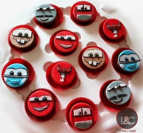 Cars Cupcakes by Life & Cakes
