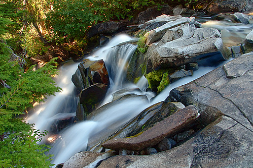Falls below Ruby Falls, Mount Rainier National Park