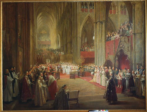 Queen Victoria's Golden Jubilee Service, Westminster Abbey, 21 June 1887