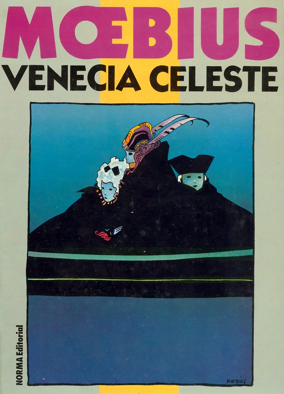 moebius venecia celeste 84-85475-61-5 1984 SP norma editorial