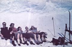 I høyfjellet på ski