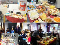 #Project252 - Day 108: Roman's Jubilee Lunch Party