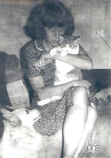 Нелли Семеновна Алукер, фото из архива Леонида Тюряхина