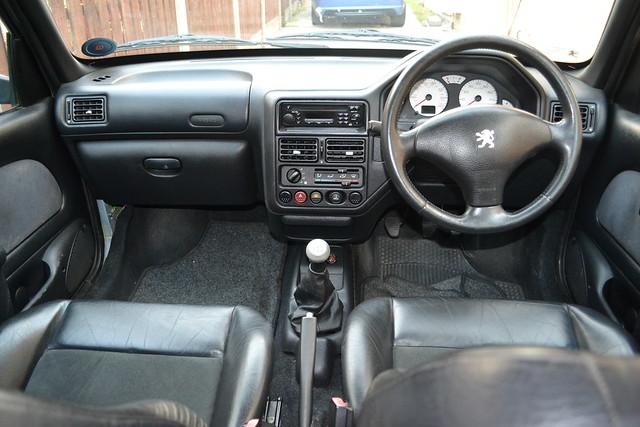 peugeot 106 gti interior flickr photo sharing