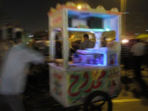Food cart, Tahrir Square