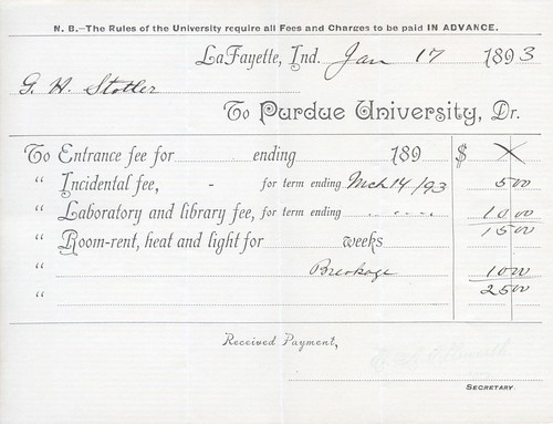 Jan 1894 Purdue Bill
