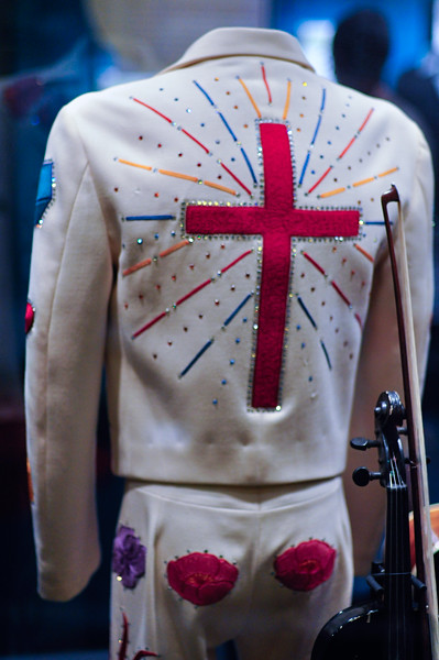 Gram Parsons' suit (back)