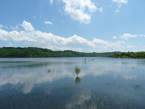 Lac de Bassillon-Vauzé