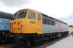Class 56: 56312 Railfest 2012