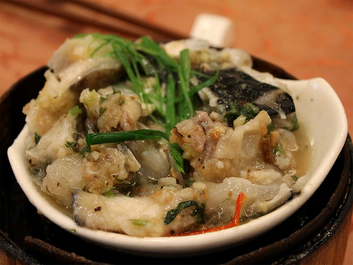 Steamed Fish Head with Chinese Herb