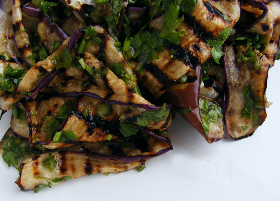 recipe: grilled eggplant side dish [38]