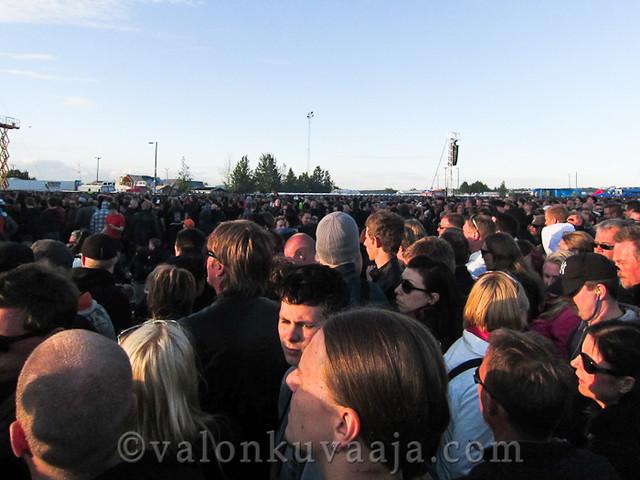 Sonisphere Finland 4.6.2012, Helsinki.