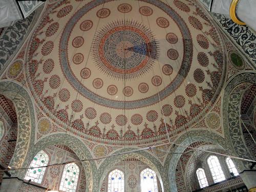 The Mausoleum of Sultan Mehmed Turbesi in Istanbul, Turkey.